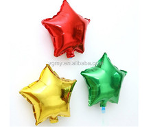 "8"" Star Moon Heart Foil Helium Balloons Birthday Party Supplies Romantic Wedding Decoration"