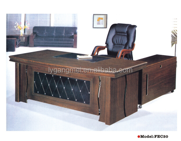 High end MDF office furniture president office used executive desk