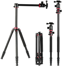 K & F Concept <span class=keywords><strong>Camera</strong></span> <span class=keywords><strong>Statief</strong></span> 72 Inch Portable Magnesium Aluminium Monopod Professionele Statieven 360 Graden Balhoofd voor DSLR <span class=keywords><strong>Camera</strong></span>