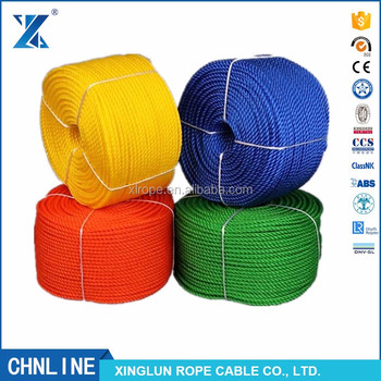 3 strand polypropylene floating rope hawser floats