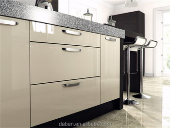 Lacquer Kitchen Cabinet Pantry Design/high Gloss Grey Lacquer ...