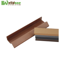 wpc composite covering wood fascia board