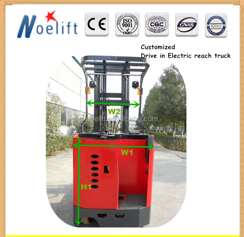Lifting equipment 10m 3 tipper truck 3000 lbs electric reach truck