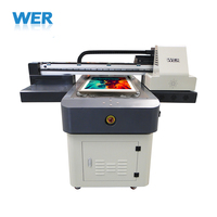 Popular China supplier A1 flatbed DTG textile printer small fabric printer