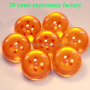 high quality custom resin seven 7 dragon ball z balls for sale