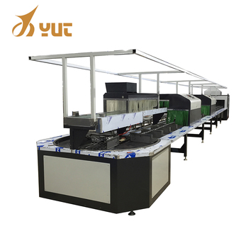 2018 New High Efficiency Assembly Line Shoe Making Machine Price