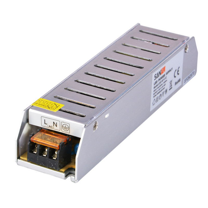 SANPU SMPS 12v LED Power Supply 60w 5a Constant Voltage Switching Driver 220v ac to dc Lighting Transformer