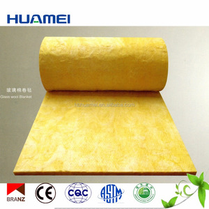 Fireproof Fiber Glass Wool Blanket Thermal Insulation Material