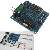 AT89c2051+18B20 digital temperature controller MCU design thermometer kit electronics DIY