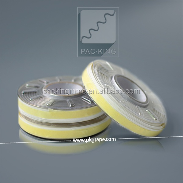 Double Sided Wrap Cut Wire Tape With Solvent Acrylic Adhesive
