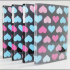 Lovely durable PP photo album with clear case for children