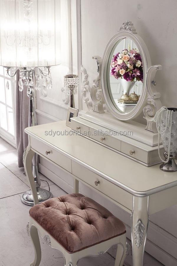 أبيض نمط فرنسا 10007 غرف النوم الحديثة تعيين الإيطالي النيو كلاسيكية