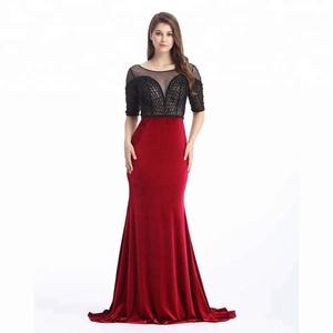 bf88afa6dc8e Velvet Mermaid Dress, Velvet Mermaid Dress Suppliers and Manufacturers at  Alibaba.com