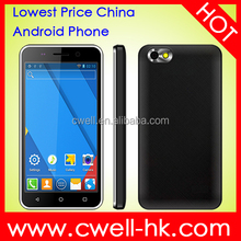 ECON G3 Android 4.4 OS 4 Inch china mobile phone oem logo free sample mobile phone