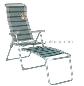 Folding Aluminium Beach Chair With Footrest Pbc290 Buy