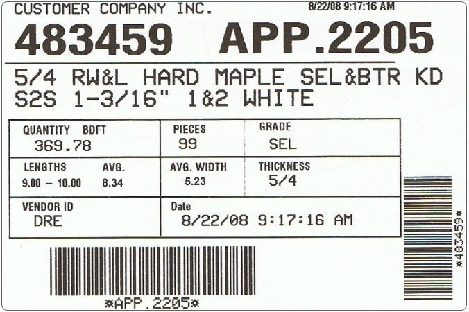 Garment Barcode Label Garment Barcode Label Suppliers and