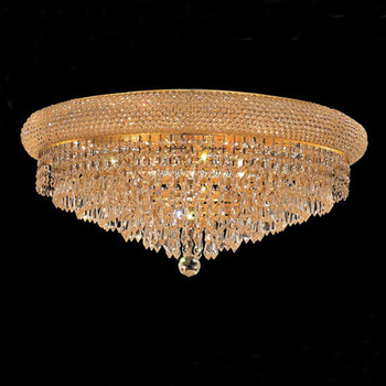 Crystal Low Ceiling Chandelier Light