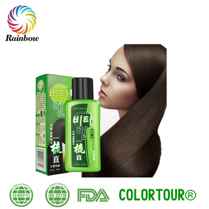 Colortour korea olive oil ionic hair straightening cream