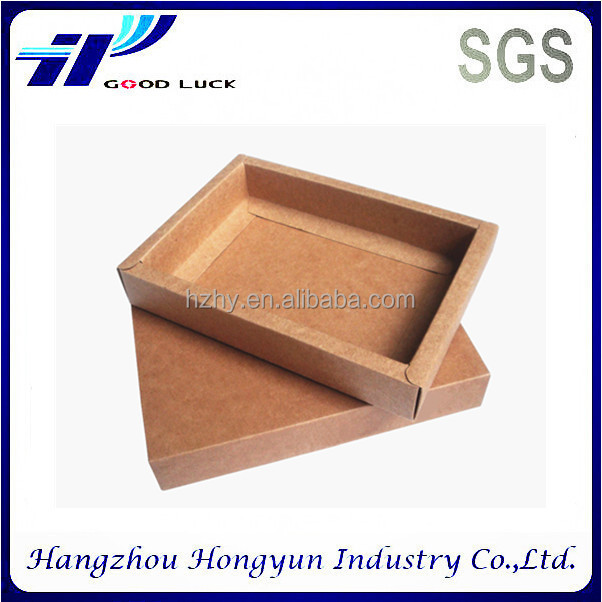 Wholesale custom slide kraft paper photo album packaging box