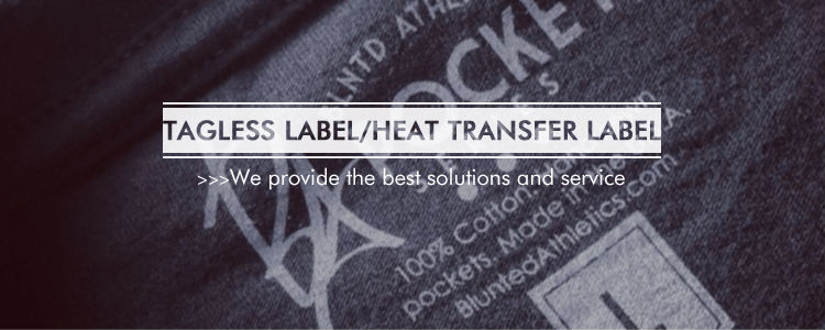 Custom reflective silicone pre printed Heat Transfers Label printed sillcon heat transfer care labels