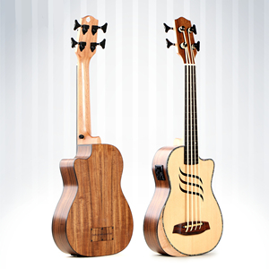 W-D15 Ubass 30inch China brand 4string electric acoustic ukulele bass