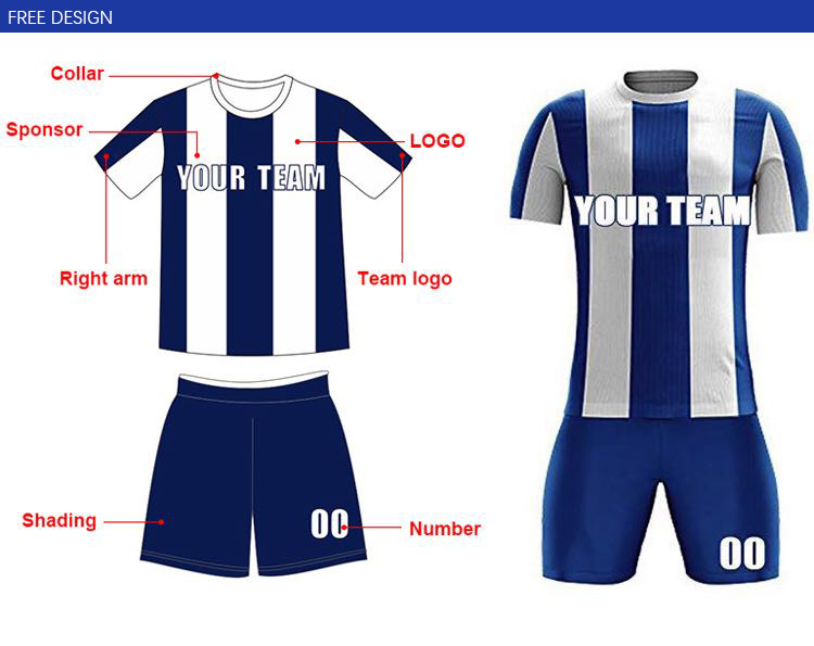 sale retailer 07f5f ab3ef Sublimated Blue Football Shirt Maker Retro Personalized Soccer Jersey Shirt  - Buy Retro Soccer Jersey,Personalized Soccer Jersey,Soccer Jersey Shirt ...