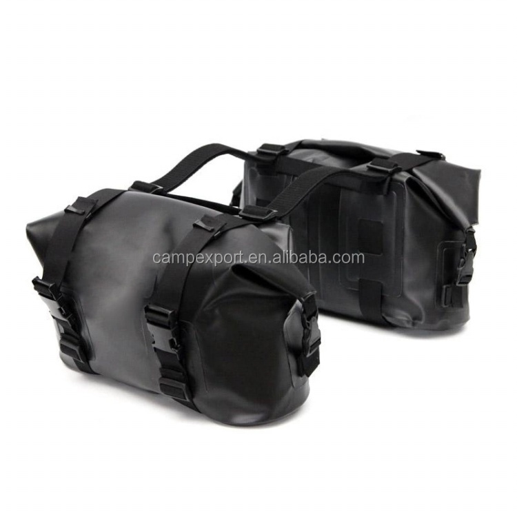 waterproof pvc tarpaulin motorcycle bags saddle bags