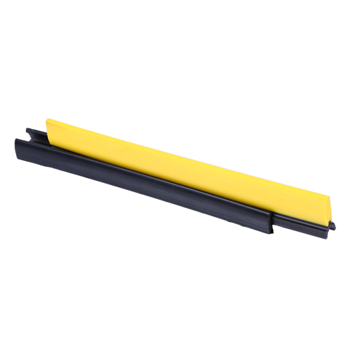 CNSB-022 Escalator safety skirt panel brush in straight line with plastic brush and 25 mm plastic base