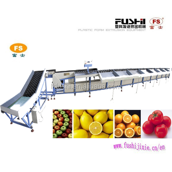 Be Popular Fruit And Vegetable Sorter Machine