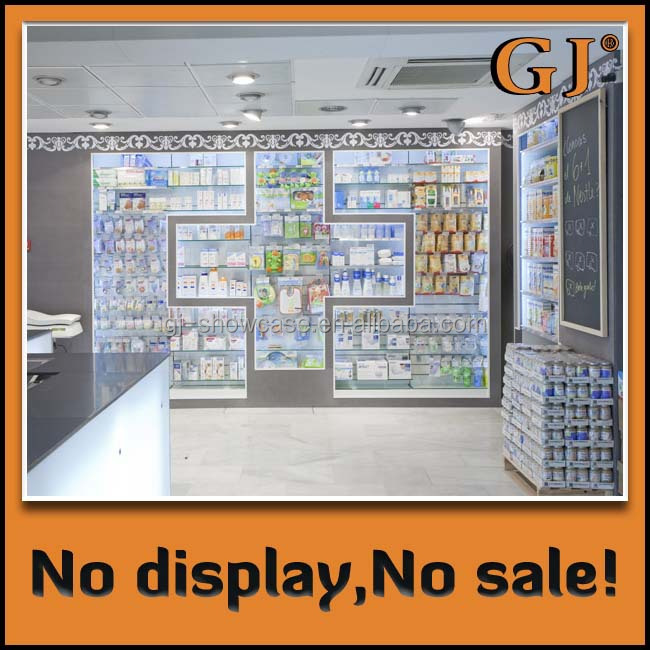 Retail Store Display Drugstore