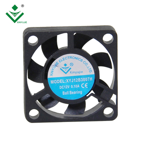 High Temperature 30mm Micro Axial Fan DC 6V 12V Small Heat Resistant Fan 30x30x7mm