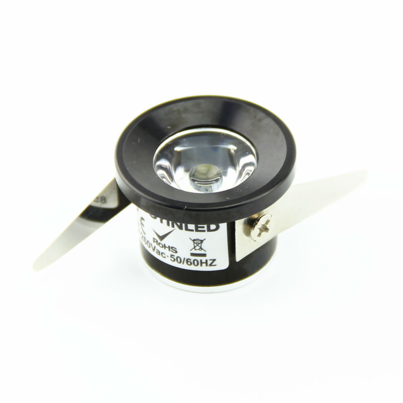 20pcs lot 1w small mini led spotlight led under cabinet. Black Bedroom Furniture Sets. Home Design Ideas