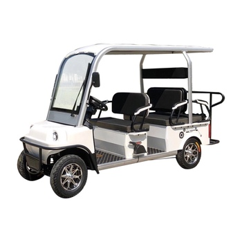 Electric golf with three passenger seat