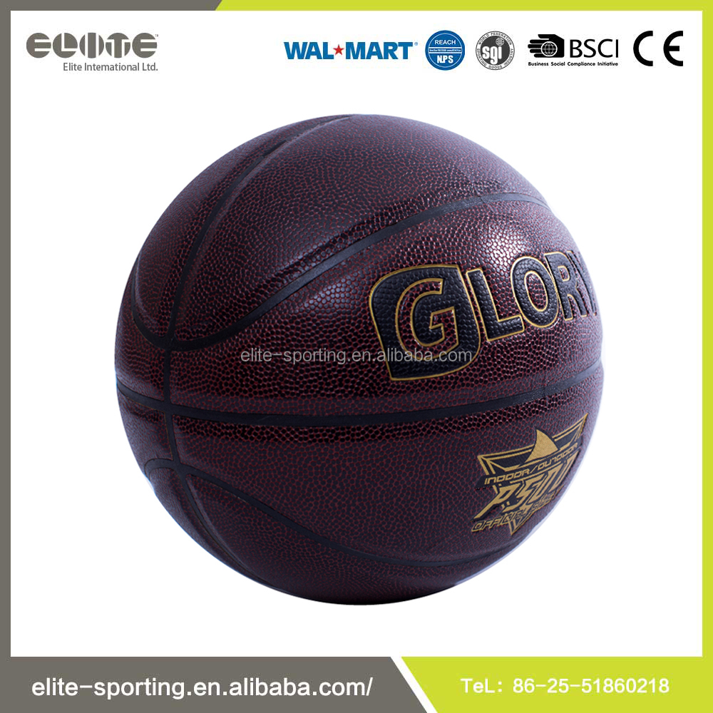 High quality double color basketball , rubber basketball size 7 , custom basketball ball