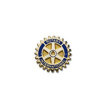 Custom rotary enamel lapel pin Rotary club pins rotary badge