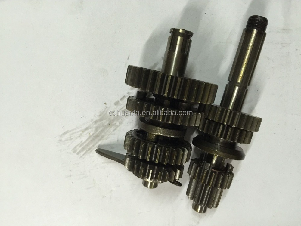 China aftermarket motorcycle parts online Motorcycle transmission gears set JINLUN 250CC/ REGAL / RMZ / UNIVERS