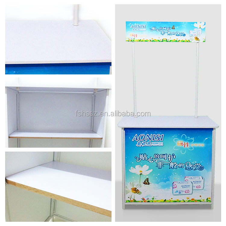 Promotion Sampling Table Supermarket Counter Booth HS-C2