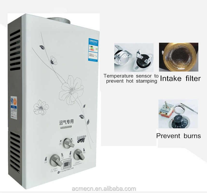 Electric biogas Water Heater Instant Water Heater For kitchen and Shower Room