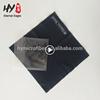 WIth opp bags black silk printing microfiber glasses cleaning cloth