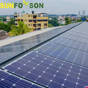 home adjustable solar solar pv mounting system on pitched roof