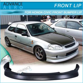 For 99 00 Honda Civic Ek 2/3/4 Door Cs Style Pu Poly Urethane Front
