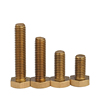 Brass DIN933 hex head screw bolts from Chinese manufacture