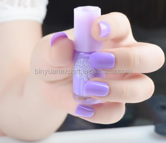 Bin New Design Purple Water Base Peel Off Nail Polish Buy Nail