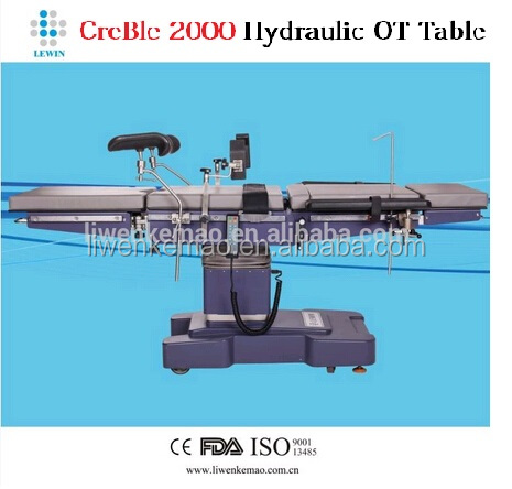Electric hydraulic operating table adapt different surgery use
