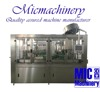 MIC-18-18-6 Automatic twist off cap glass bottle mineral water plant price 3000-6000bph with CE