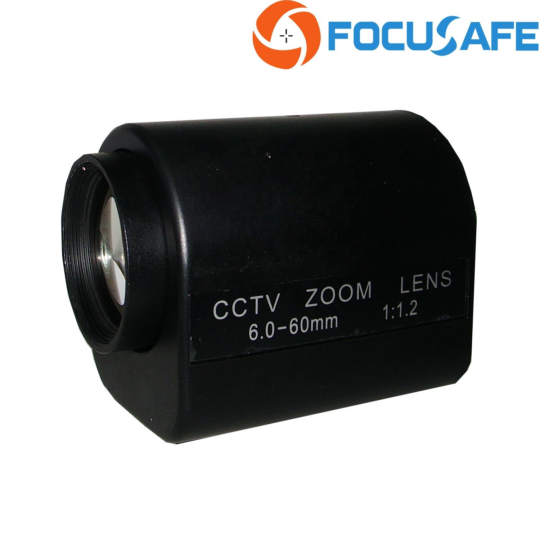 Motorized camera Lens 6-60MM 60 MM CCTV CS Zoom 3