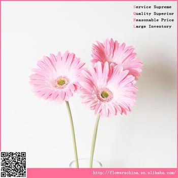 Mini Gerbera Daisy Artificial Flower Arrangements In Vase And Pot