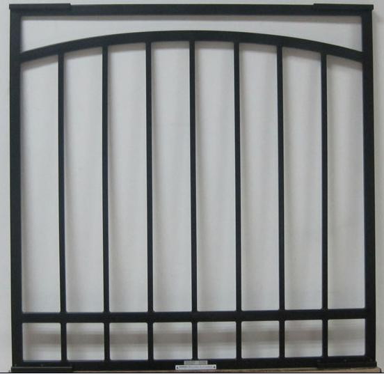 China Special style wrought iron window bars at factory price
