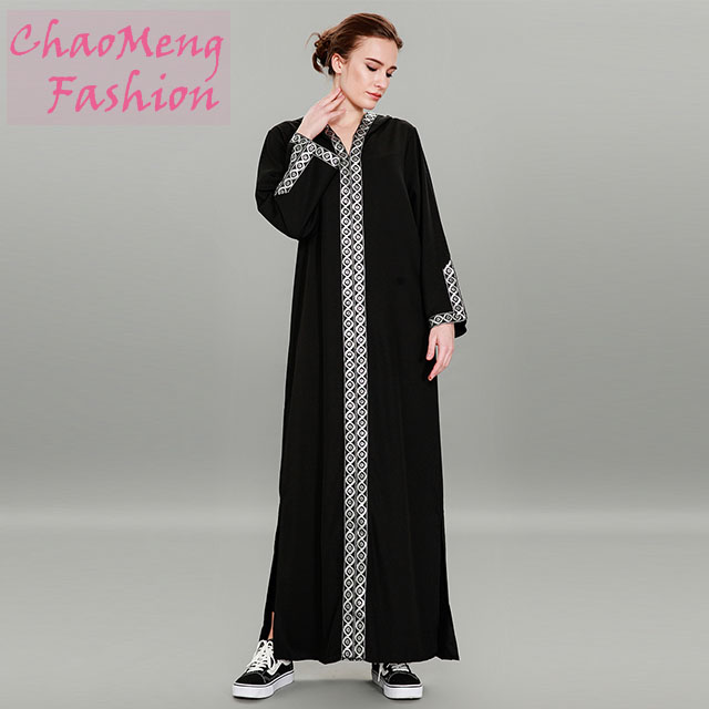 9062# long sleeve ethnic embroidery women dresses muslimah products exported to dubai clothing manufacturers turkey, As shown