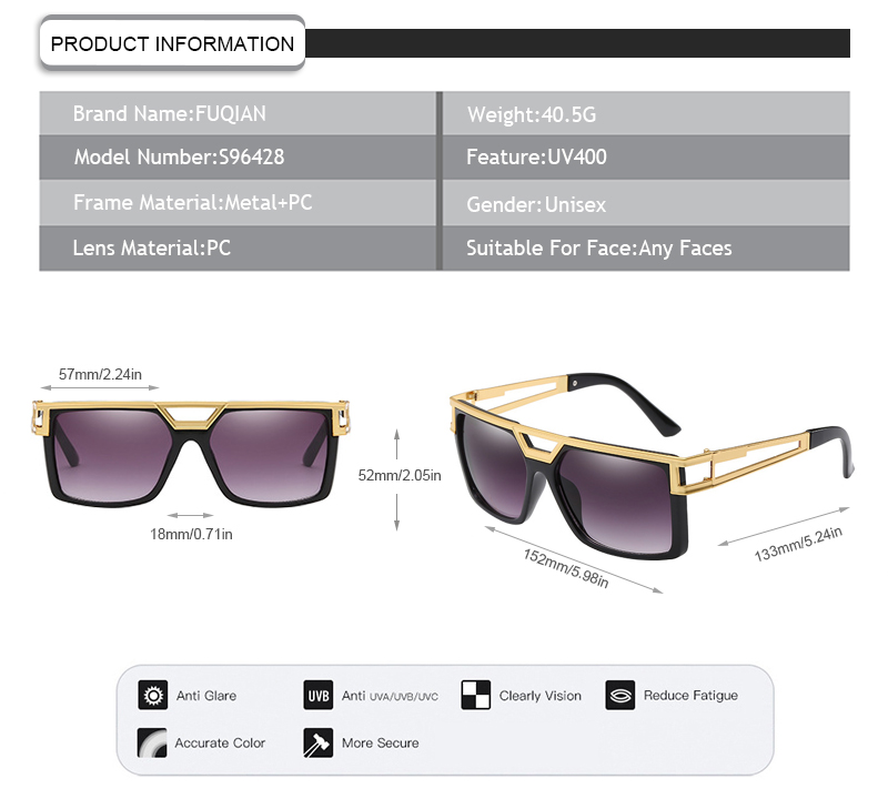 Custom cheap polarised sunglasses manufacturers for lady-7